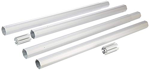 GLI Pool Products 55-1803WH-TK Whirlwind Above Ground Reel Pool Cleaning Tube Kit, 3-Inch by 18-Feet