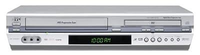 JVC HRXVC37U Progressive-Scan DVD/VCR Combo , Silver