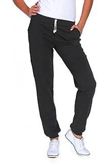a833f6e58397f1 FUTURO FASHION Damen Sport in voller Länge Fleece Jogger mit Taschen Cuffed  Gym Hosen Jogging DK