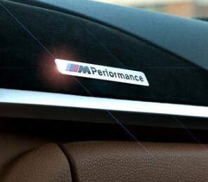 1 PCS M Performance Car Sticker 3D Emblem Badge Sport Logo for BMW M Series -