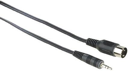 Hama Audio Kabel 5 Pol Din St 3 5 Mm Klinken St Elektronik
