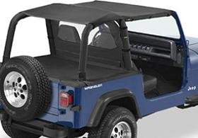 Bestop Bikini Top For 1992   1994 Jeep Wrangler