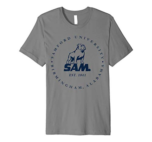 Samford University Bulldogs NCAA T-Shirt 1712GM01