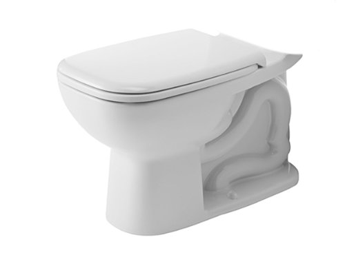 Duravit 0117010000 D-Code Toilet Bowl, White Finish by Duravit