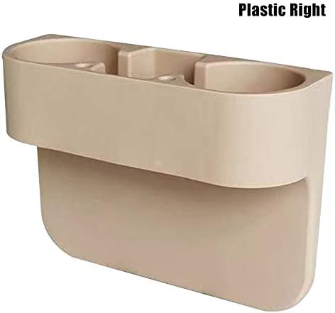 Car Seat Crevice Storage Box Cup Drink Holder Organizer Auto Stowing Large Capacity Storage Case Tulas Car Seat Gap Organizer Beige,Leather Left