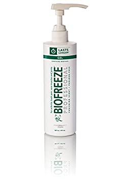 Biofreeze Professional Pain Relieving Gel, Topical Analgesic for Enhanced Relief of Arthritis, Muscle & Joint Pain, NSAID Free Pain Reliever Cream, 16 oz with Pump, Original Green Formula, 5% Menthol
