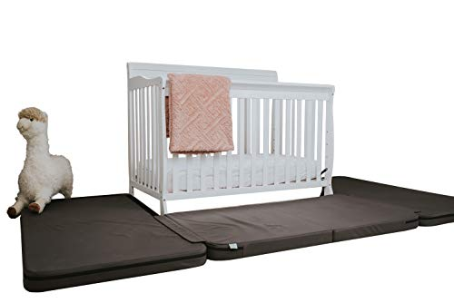 Crib Fall Protection Pads. New! These 3 Pads Go Around The Base of A Baby's Crib to Protect Against Critical Injuries from Crib Falls Up to 8 Ft High. Certified & Tested. by L'Enfant Crib Safety.