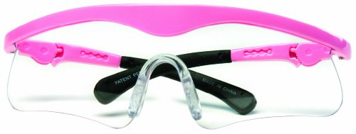 Daisy Outdoor Products 995850-506 Pink Shooting Glasses (Black/Pink, Youth to Adult)