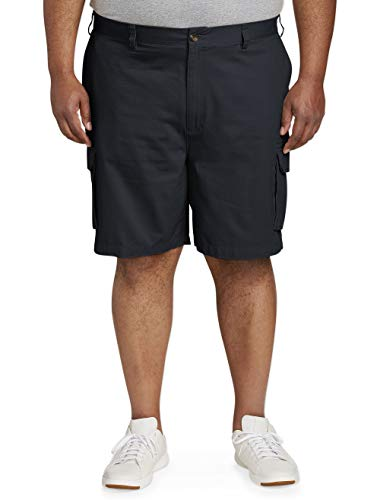 (Amazon Essentials Men's Big & Tall Cargo Short, Navy, 56)