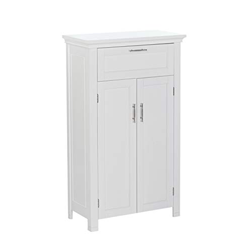 Wall Bath Collection (RiverRidge Somerset Collection Two-Door Floor Cabinet, White)