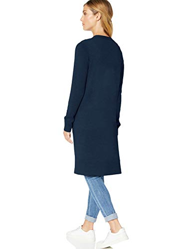 Bleu navy Essentials Nav Length Cardigan Amazon Longer vW6qIBT