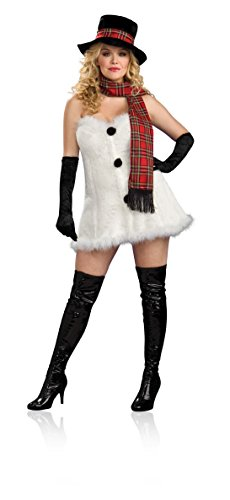 Secret Wishes Full Figure Frostbitten Costume, Multicolor, One