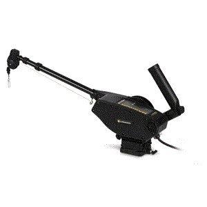(Magnum 10 STX Electric Downrigger, Black, Adj Rod Holder, Backlit Keypad, Telescoping 24