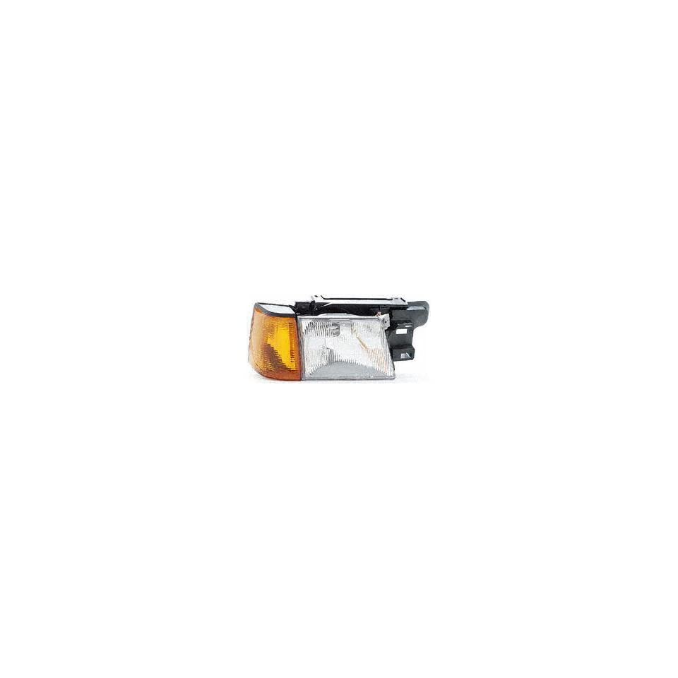 85 88 FORD EXP HEADLIGHT RH (PASSENGER SIDE), From 3/85, With Marker