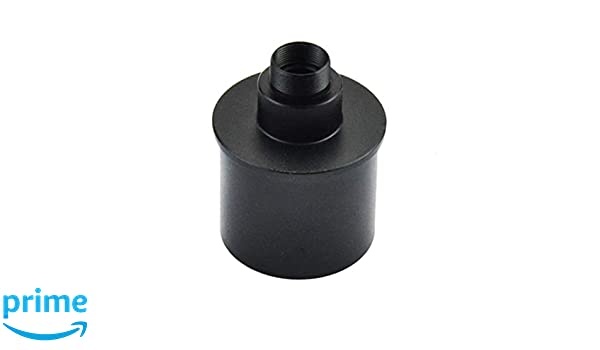 Ideal for Taking Videos and Capture of Moon and Planets Gosky Webcam Adapter for Webcam SPC 900NC Etc//Telescope 1.25inch Connection M12 Thread