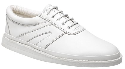 Dek Gents lace up Bowling shoes white 8: Amazon.co.uk: Shoes & Bags