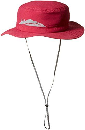 Outdoor Research Kids' Helios Sun Hat, Raspberry, - Sun Research Hat Helios Outdoor