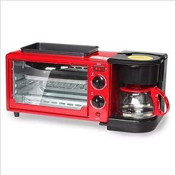 DIDIOI Máquina de Hacer Pan, tostadora, 220V 3-en-1 Multifunción ...