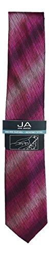 John Ashford Sharkskin Fashion Microfiber Tipped Easy Care Neck Tie (One Size, (Sharkskin Tie)