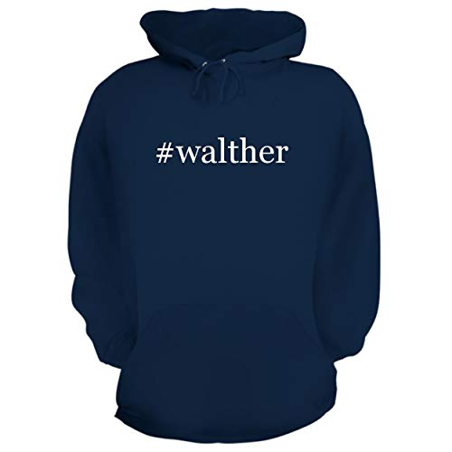 Laser Walther Cp99 - BH Cool Designs #Walther - Graphic Hoodie Sweatshirt, Navy, Medium