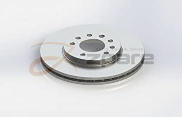 MILPAR Juego de 2 Discos De Freno Calibra a (85 _) 2.0 i Turbo 4 x 4/Calibra a (85 _) 2.5 i V6: Amazon.es: Coche y moto