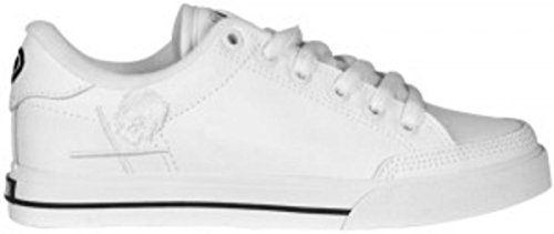 Circa Skate Shoes ALW50-White / White Skulls