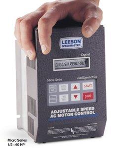 Leeson AC Adjustable Speed VFD Drive 2 hp 460-480V # 174921