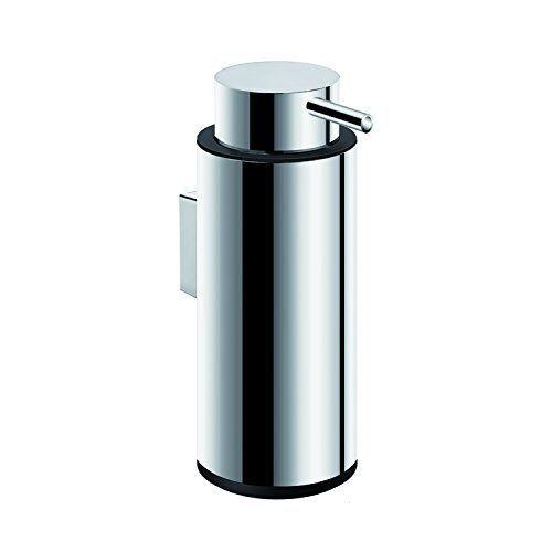COSMIC Logic Soap Dispenser, Wall Mount, Stainless Steel Body, Chrome Finish, 2-3/8 x 6-1/2 x 2-3/8 Inches (2260304) by DAX