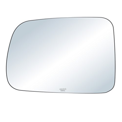 exactafit 8830L Replacement Driver Left Side Mirror Glass Flat Lens fits 1997-2006 Honda CR-V by Rugged ()
