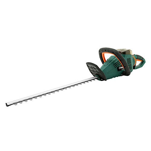 DOEWORKS 40V Li-ion Cordless Electric Powered Hedge Trimmer with Rotating Handle, 22
