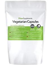 Lege vegetarische capsules   Maat 000
