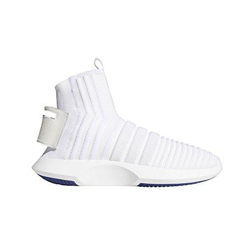 adidas pazzo 1 avanzata sock pk correndo bianco / in bianco / vera viola