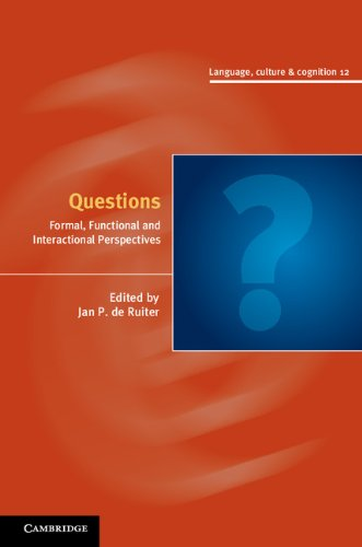 Questions (Language Culture and Cognition) Pdf
