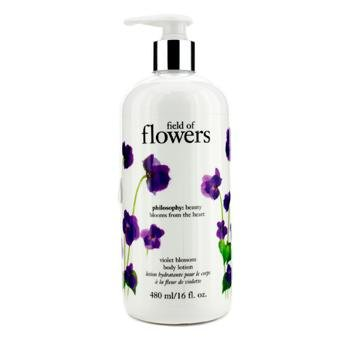 Philosophy Field of Flowers Violet Blossom Body Lotion-16 oz.