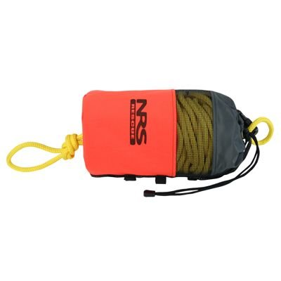 (NRS Standard Rescue Throw Bag Orange 3/8IN x 75 FT)