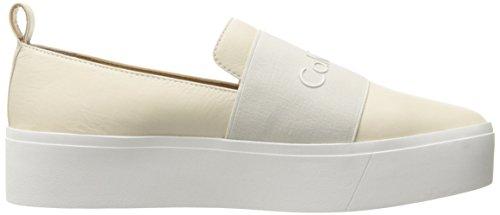 soft Bianco Stivaletto White Donna elastic Calvin Cervo A Pantofole Klein Jacinta qYgz18