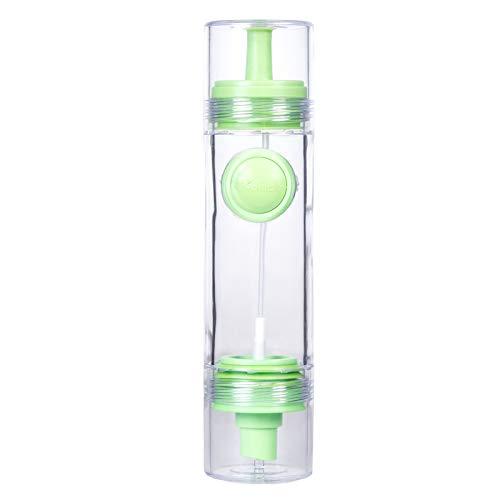 Creative Silicone Push-type Adjustable Soy Sauce Bottle Kitchen with Nozzle Leak Proof Oil Pot Vinegar Spray Seasoning -