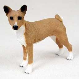 Basenji Original Dog Figurine (4in-5in)