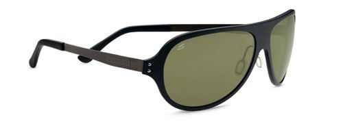 Serengeti Satin Sunglasses - Serengeti Eyewear Sunglasses Alice 7819 Satin Black Frame W/Polar PhD 555nm Lens