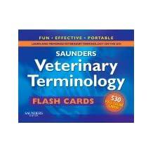 Saunders Veterinary Terminology Flash Cards