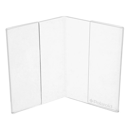 Polaroid Clear Acrylic V Shaped Double
