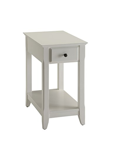 (Acme Furniture Acme 82842 Bertie Side Table, White, One Size)