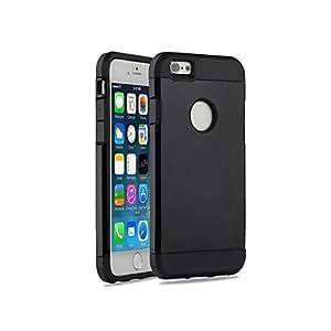 SHOUJIKE Fashion Plastic Hard Case for iphone 6(Assorted Colors) , White