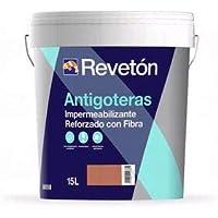 REVETON - ANTIGOTERAS CON FIBRA TRANSITABLE 4 LT