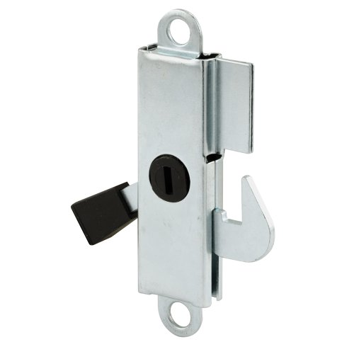 Prime-Line Products 151890 Sliding Door Internal Lock with Steel Hook and Lever, ()