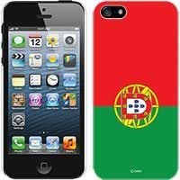 Cellet Proguard Case with Portugal Flag for Apple iPhone 5 - White hjbrhga1544