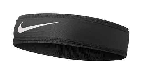 Nike Speed Performance Headband(Black/White, Osfm) -