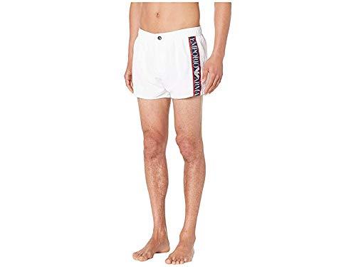 Emporio Armani Men's Color Block Shorts White Small