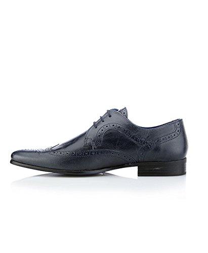 Red Tape , Chaussures de ville à lacets pour homme Bleu bleu