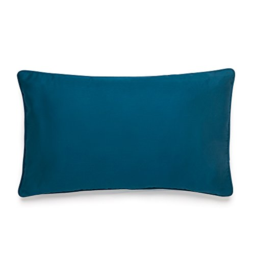 Amy Sia Midnight Storm Solid Sateen Decorative Pillow